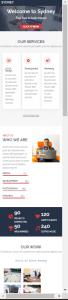 sydney - plantillas WordPress Responsive Gratis