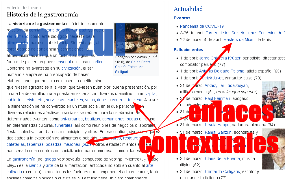 ejemplos de enlaces contextuales